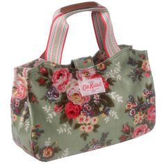 Cath Kidston pikkukassi Candy Flowers Canvas Green