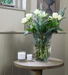 Brompton Round Side Table - Weathered Oak – La Residence Interiors