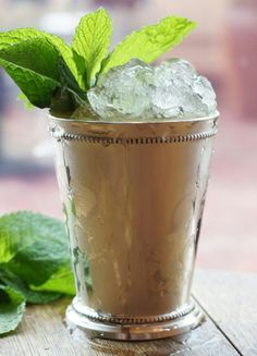 Mint julep just like this morning!!!