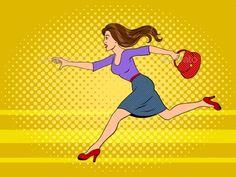 Buy Woman Run Pop Art Vector Illustration by AlexanderPokusay on GraphicRiver. Woman run pop art retro vector illustration. Pop Up Art, Pop Art Girl, Desenho Pop Art, Pop Art Drawing, Pop Art Women, Retro Illustration, Woman Illustration, Event Poster Design, Comic Book Style
