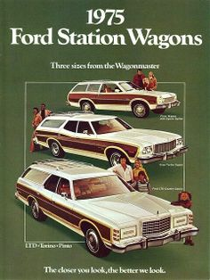 1975 Ford Station Wagon Ad.