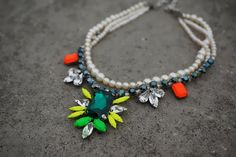 Madame Butterfly  neon swarovski rhinestones and by Bayila on Etsy, $160.00