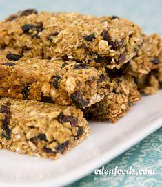 homemade natural sugars granola bars
