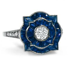 The Cassiopeia Ring #BrilliantEarth #Antique #ArtDeco