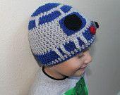 R2-D2 kids cap! Adorable!