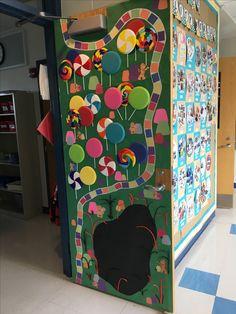 Candy Land Door - Room 3 | Craft/Door ideas - completed ...