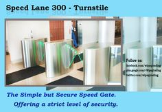  Buy Turnstile Access Control Waist High Turnstiles - Speed_Lane 300 from Wipaq Trading at Dubai and Make your premises secured! Right Now!