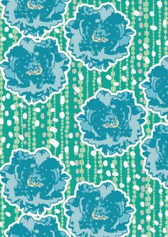 green garden1 Art Print