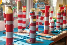Our amazing lighthouses. Inspired by The Lighthouse Keeper's Lunch.