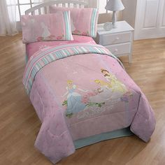 Disney Princess Elegance Bedding Comforter. Not a huge fan of character bedding, but this one might be a good compromise.