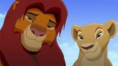 Screencap Gallery for The Lion King Simba's Pride Bluray, Disney Sequels). Simba and Nala have a daughter, Kiara. Roi Lion Simba, Nala Lion King, The Lion King 1994, Lion King Fan Art, Simba And Nala, Le Roi Lion, King 3, Lion King Series, Lion King Story