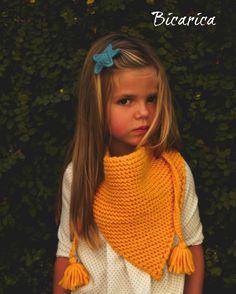 Bufandas Bicarica Ropita artesanal para bebés y niños/Ropa artesanal para bebé hecha en casa/Handmade baby clothes
