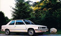 renault alliance coupe 1984 My old car! College days! Corinne Madias
