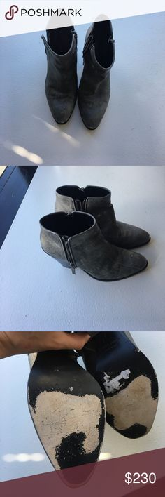 Giuseppe Zanotti Booties gentle used Confortable Giuseppe Zanotti booties. Used. Worn just few times! Giuseppe Zanotti Shoes Ankle Boots & Booties