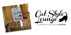 #Hauspanther Cat Style Lounge at 2104 BlogPaws Conference Showcases Top Cat Products