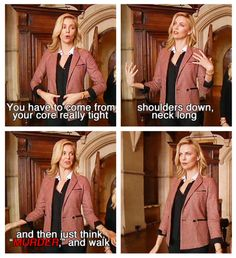 """""""Charlize Theron: How to walk like a queen"""" LOL--I love her!"""