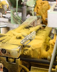 Photographer Alastair Wiper took a trip to our production facilities Wooltex in northern England to capture the inner workings of Kvadrat