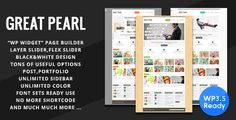 Theme Description:Great Pearl Per Theme    Great Pearl is an awesome minimal portfolio WP Theme. Great Pearl WordPress Theme is designed for work showcase, display services, portfolio, business and corporate website