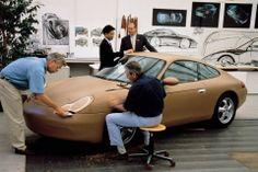OG | 1997 Porsche 911 - 996 | Full-size clay model