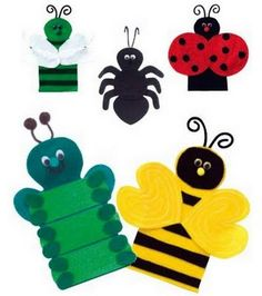 bug puppets for Creation or adapt for some of the10 plagues