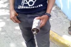 VIDEO – Mujer detona #bomba lacrimógena en hotel de #BocaChica | Entérate>>