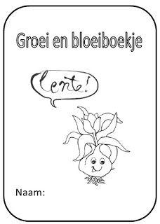 Juf Shanna: Groei & Bloeiboekje (lente!)
