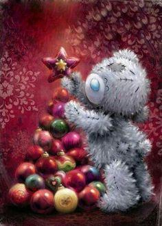 ♥ Tatty Teddy ♥ Source by tiffmcg Tatty Teddy, Christmas Scenes, Christmas Art, Vintage Christmas, Christmas Clipart, Christmas Wishes, Teddy Pictures, Illustration Noel, Christmas Teddy Bear