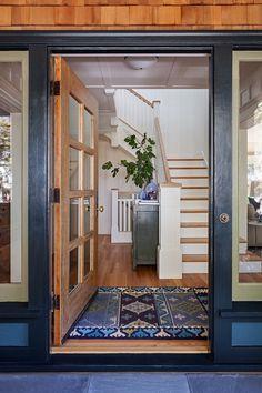 Home Interior Hallway Modern Craftsman: Charming Home Tour.Home Interior Hallway Modern Craftsman: Charming Home Tour Craftsman Style Bungalow, Craftsman Home Interiors, Craftsman Interior, Modern Craftsman, Craftsman Bungalows, Craftsman Homes, Craftsman Decor, Bungalow Ideas, Craftsman Cottage
