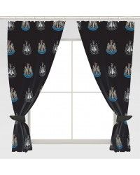 Newcastle United Football Club Crest 72 Inch Drop Curtains