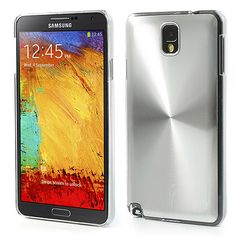 Silver Metallic Hard Case for #Samsung #GalaxyNote3