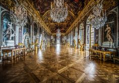 """""""Hall of Mirrors at Versailles"""" by Scott Kelby"""