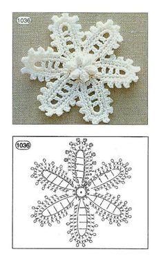 Irish crochet flower chart tutorial by tonya perich Filet Crochet, Beau Crochet, Crochet Motifs, Crochet Diagram, Freeform Crochet, Thread Crochet, Crochet Doilies, Crochet Lace, Diagram Chart