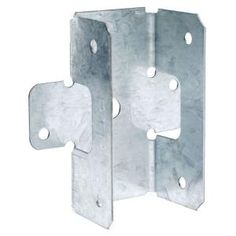 Enjoy the Simpson Strong-Tie in. Galvanized Steel Rigid Tie Connector RTR, galvanized steel is designed to connect intersecting wood members from The Home Depot Metal Fence Posts, Timber Posts, Hurricane Ties, Ceiling Shelves, Building A Garage, Lean To Shed Plans, Galvanized Pipe, Nails And Screws, Garage Storage