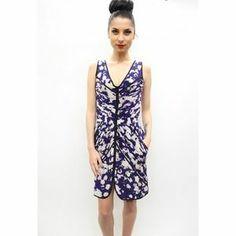 Wai Ming Dresses & Skirts - Wai Ming Evan pin Tuck Silk Dress