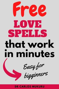 Love Spells That Work in minutes is provided by Dr Carlos Mukuru. These free love spells that work immediately will solve most of issues related to relationship. Are you in poor terms with your lover? Has your lover left you? love spells that work instantly can quickly solve your love problems. Take action and try these free spells. #LovespellsthatworkFast #lovespellsthatworkimmediately #lovespellsthatworkinstantly #Lovespells #lovespellsthatworkinstantly Ex Love, Love Spell That Work, Strong Love, Free Love Spells, Powerful Love Spells, Spells That Actually Work, Love Binding Spell, Love Spell Chant, Bring Back Lost Lover