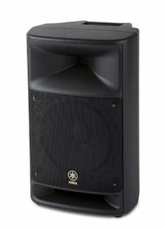 """Yamaha MSR250 Powered Speaker by Yamaha. $399.99. The MSR250 is a 200-watt powered loudspeaker system designed for all around sound reinforcement use. The high impact molded enclosure is a bass-reflex design with a 10"""" woofer and a 1""""titanium high frequency driver that can be used as a main speaker or as an onstage monitor. The built-in 200-watt power amplifier provides amazing audio output from a lightweight, small, easy to transport package.. Save 33% Off!"""