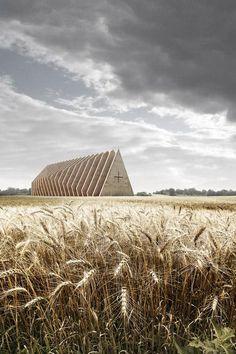 """""""@maximaxoo: religious architecture in harmony with nature? http://www.vailloirigaray.com/portfolio/church-prototypes/ … by @vailloirigaray """" @BrutalHouse"""