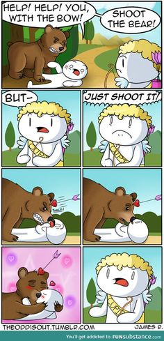A beary romantic beginning...