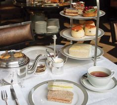 Bruce Richardson offers helpful suggestions in crafting a well-balanced afternoon tea.