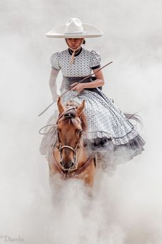 Escaramuza by Adrian Dovali - Photo 70965453 / Traditional Mexican Dress, Traditional Dresses, Vestido Charro, Minions, Mexico Culture, Mexican Art, Mexican Rodeo, Mexican Girls, Mexican Dresses