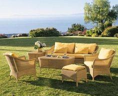 (CLICK IMAGE TWICE FOR UPDATED PRICING AND INFO) #home #patio #sofa #outdoor #outdoorsofa #patiosofa #patiosofaset #loungesets #outdoorpatiosofasets  see more patio sofa at http://zpatiofurniture.com/category/patio-furniture-categories/patio-sofa/ - New Luxurious 6 Piece Antique Honey Color Wicker Sofa Set – 1 Sofa, 2 Lounge Chairs, 1 Ottoman, 1 Coffee Table and 1 Side Table -Furniture only – Belmont Collection « zPatioFurniture.com