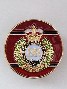 Royal Engineers RE Colours Lapel Pin Royal Engineers, Lapel Pins, Badges, Engineering, Military, Colours, Inspirational, God, History