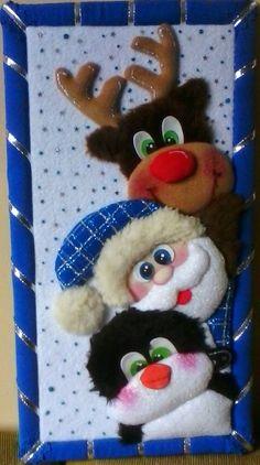 Blue Christmas Decor, Felt Christmas, Christmas Decorations To Make, Christmas Crafts, Xmas, Christmas Ornaments, Holiday Decor, Felt Dolls, The Elf