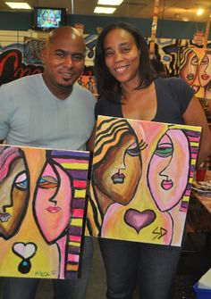 Create colorful art and lasting memories by taking our art classes.