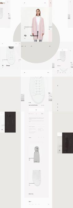 Cos. website design by Milk Work  #ui #ux #userexperience #website #webdesign #userinterface