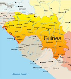 Places To See: Kinkon Falls | Guinea Conakry | Live A Good Life