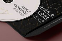 A new CD psd mockup with its very elegant paper envelope sleeve. You can easily change colors and paste your own...