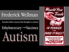 Ethylmercury (thimerosal)  causes Autism (neurological damage)!!  How Mercury Triggered The Age Of Autism