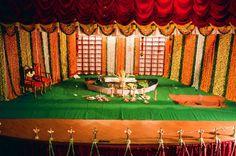 Wedding Podium, all decked up (Hindu style)