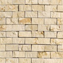 Crema Marfil Classico Split Faced - Marble Collection by daltile